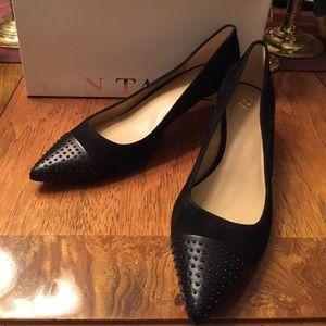Ann Taylor Noemi Pointy Kitten Heel Size 8.5